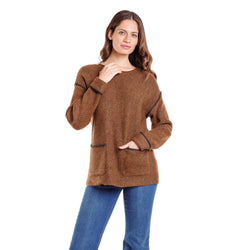 Sweater Argos Toffee Negro