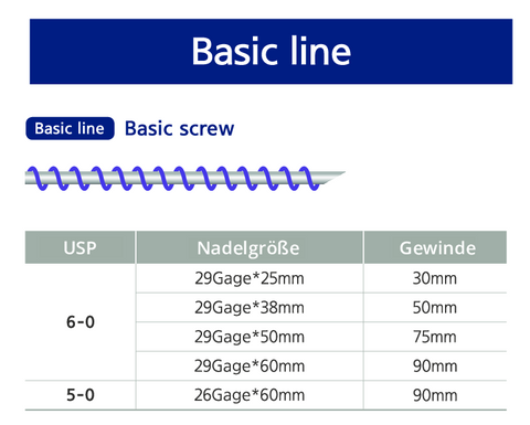 BASIC LINE - BASIC SCREW