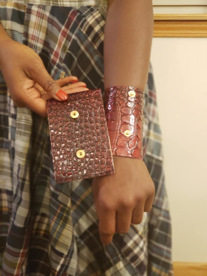 Button Up Wristlet
