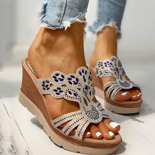 Mascori Platform Wedge Casual Sandals