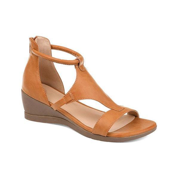 Mascori Women Casual Daily Wedge Sandals