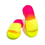 Mascori Padded Insole Multi-Color Slippers