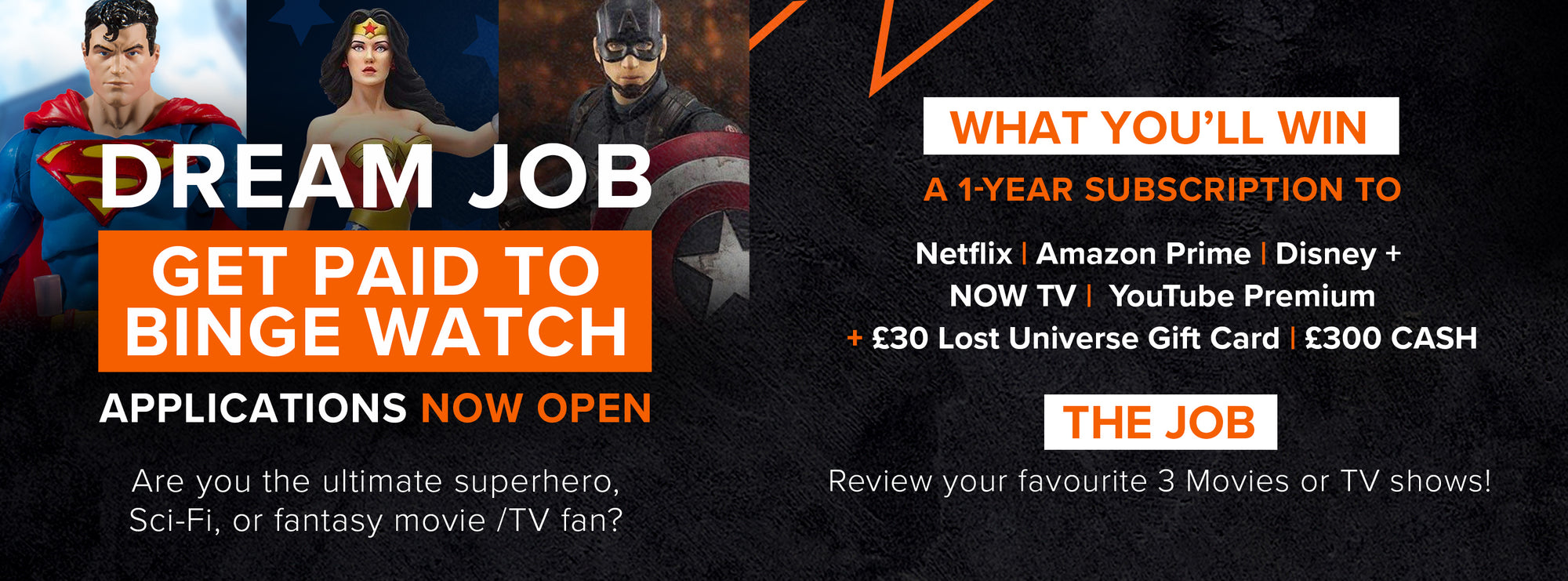 BINGE-WATCHER DREAM JOB - APPLICATIONS NOW CLOSED!