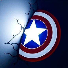 Marvel Captain America Shield 3D Deco Light