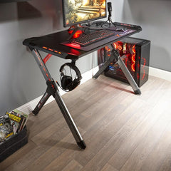 x rocker lynx gaming desk