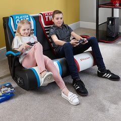 x rocker duel rivals gaming chair