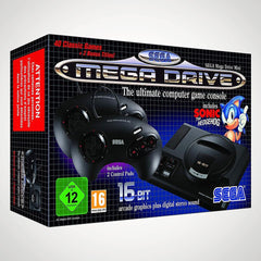 sega mega drive mini retro games console