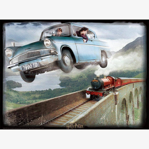 harry potter ford anglia 3d puzzle