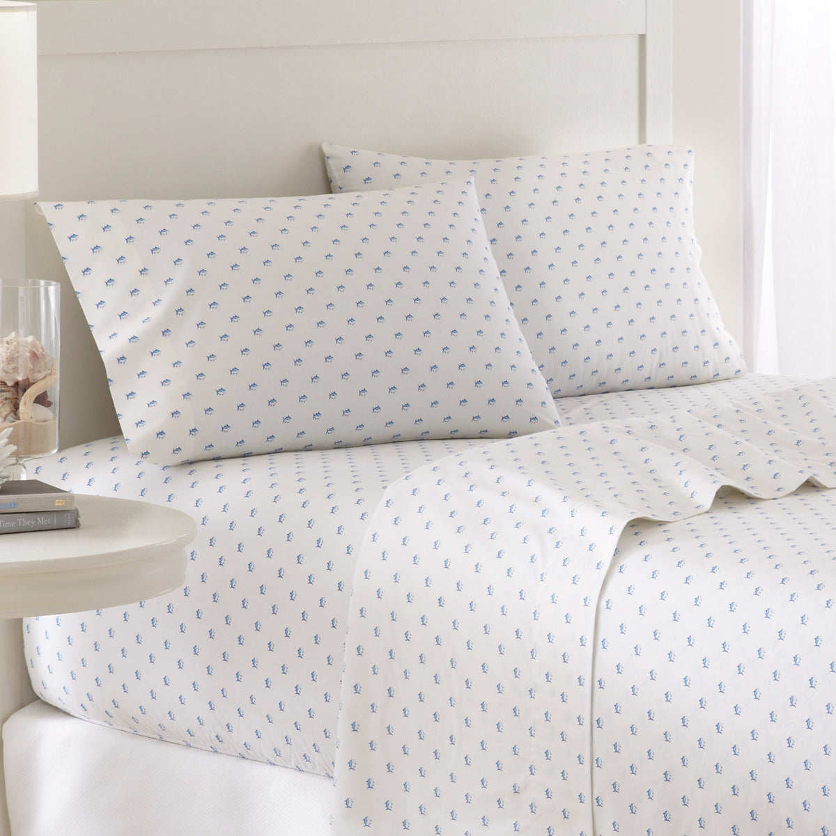 Southern Tide Printed Skipjack Cotton Sheet Set
