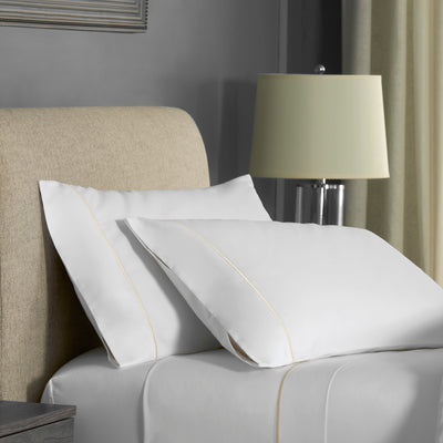 FlatIron Hotel Satin Stitch Sheet Set