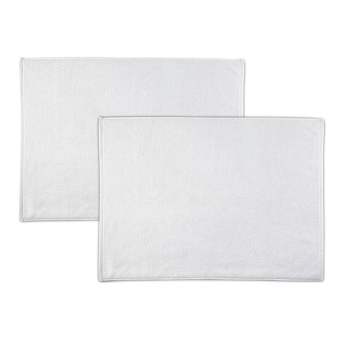 EcoPure Serene Two Piece Organic Cotton Bath Mat Set