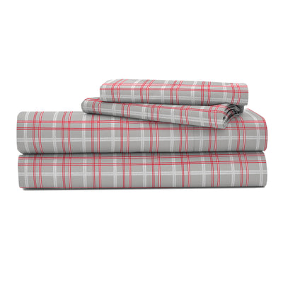 IZOD David Plaid Sheet Set