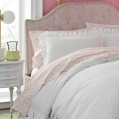 Lady Pepperell Penelope Floral Comforter Set