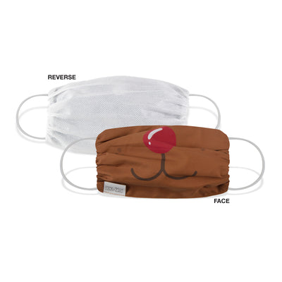 Martex Health Christmas Character Double Layer Gathered Face Masks 4-Pack