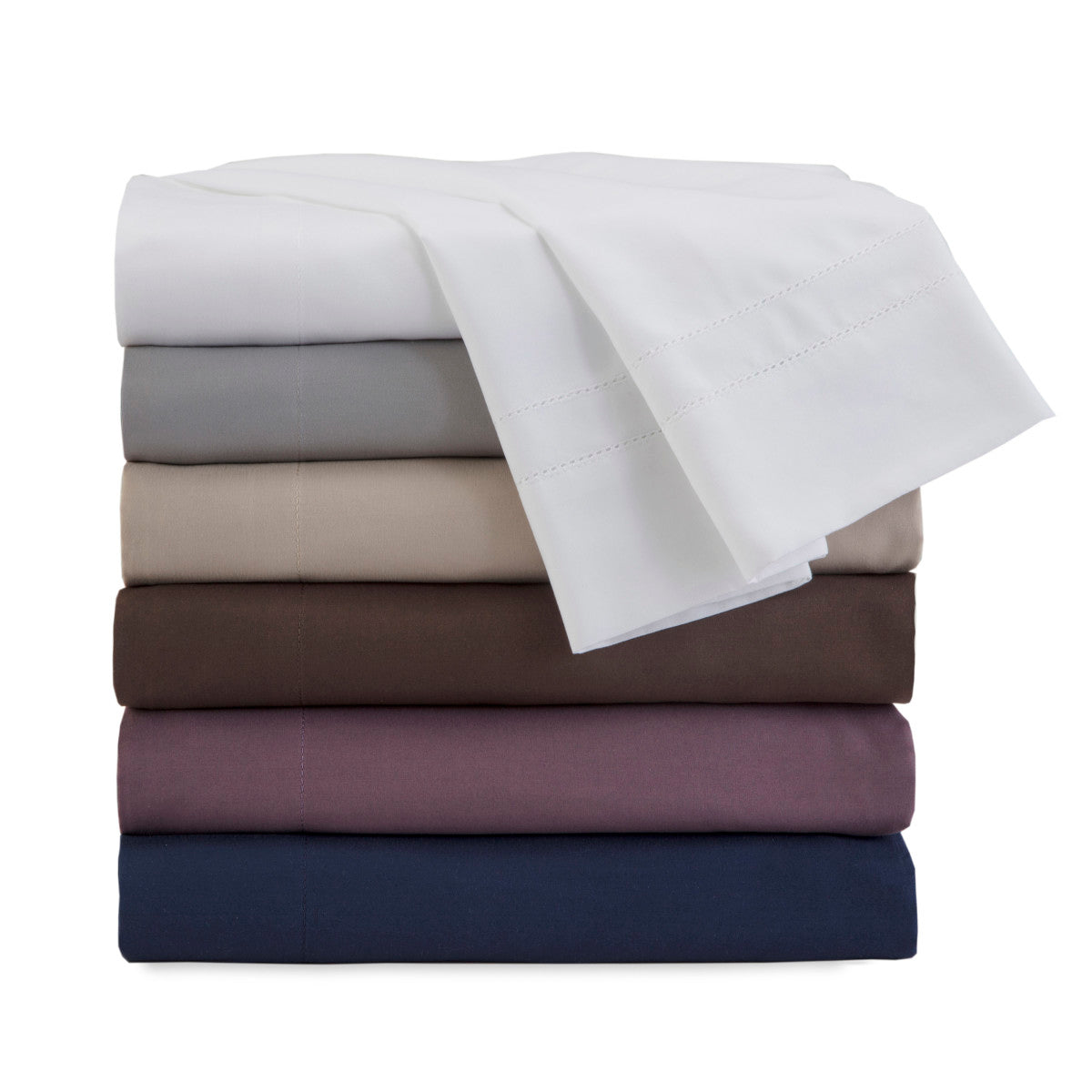 Martex Luxury 2000 Series Ultra Soft MicroBrushed Hemstitched Sheet Set