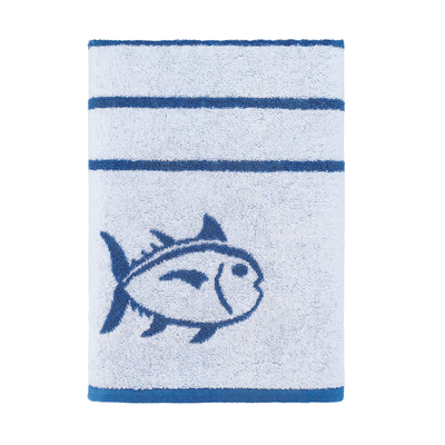Southern Tide Breton Striped 2 Pack Bath Towels