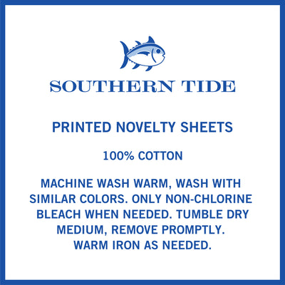 Southern Tide Nautical Inspired Novelty Sheet Sets