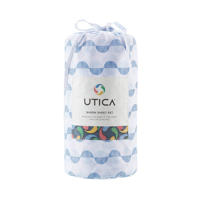 Utica Printed Fashion Sheet Set
