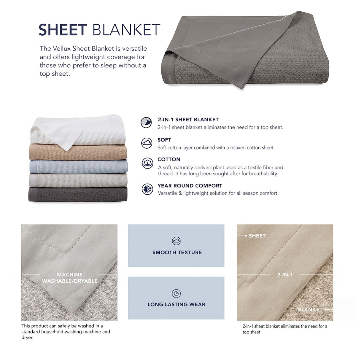 Vellux Sheet Blanket