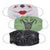 Martex Health Adult Halloween Spooky Gathered Face Mask 3-Pack