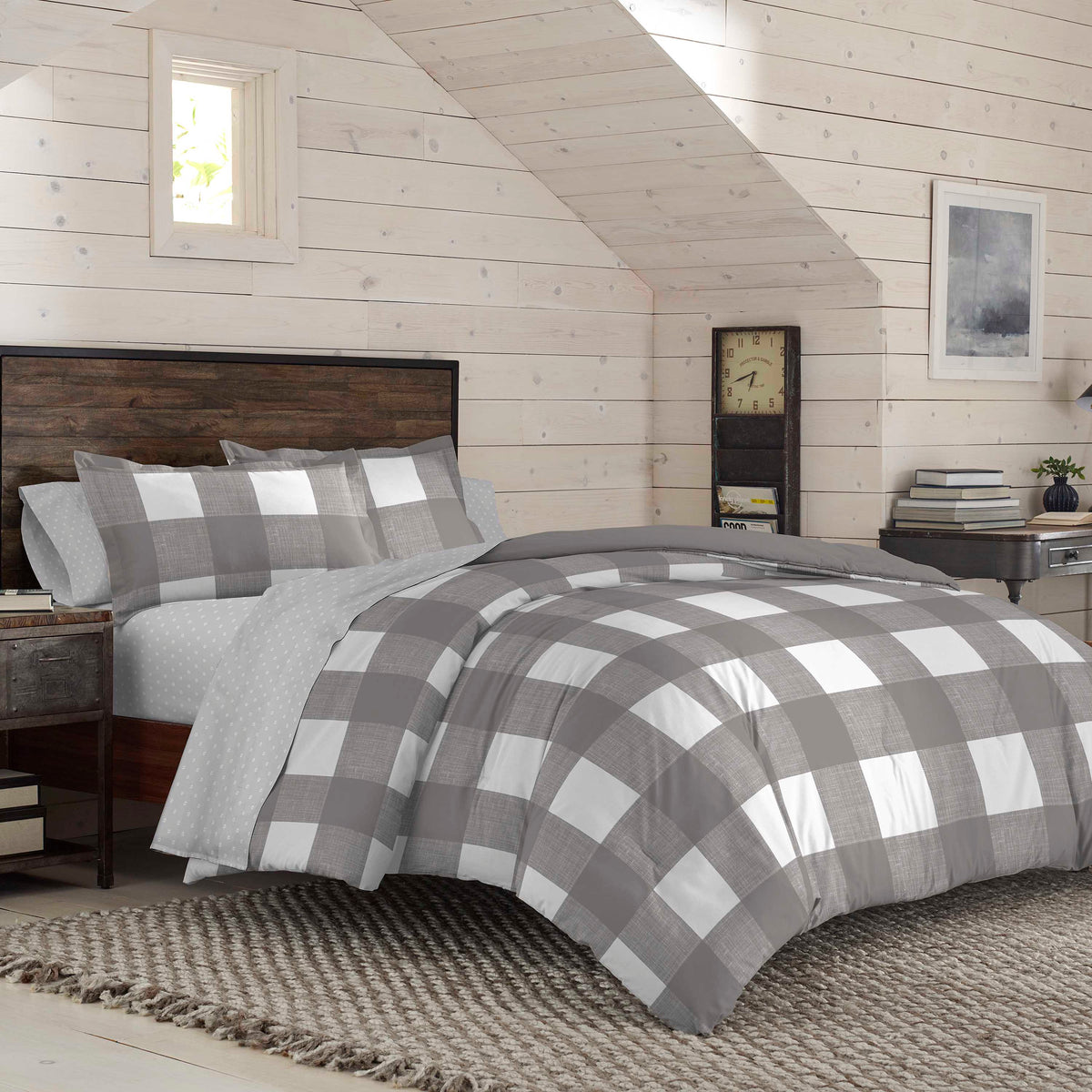 IZOD Buffalo Plaid Comforter Set