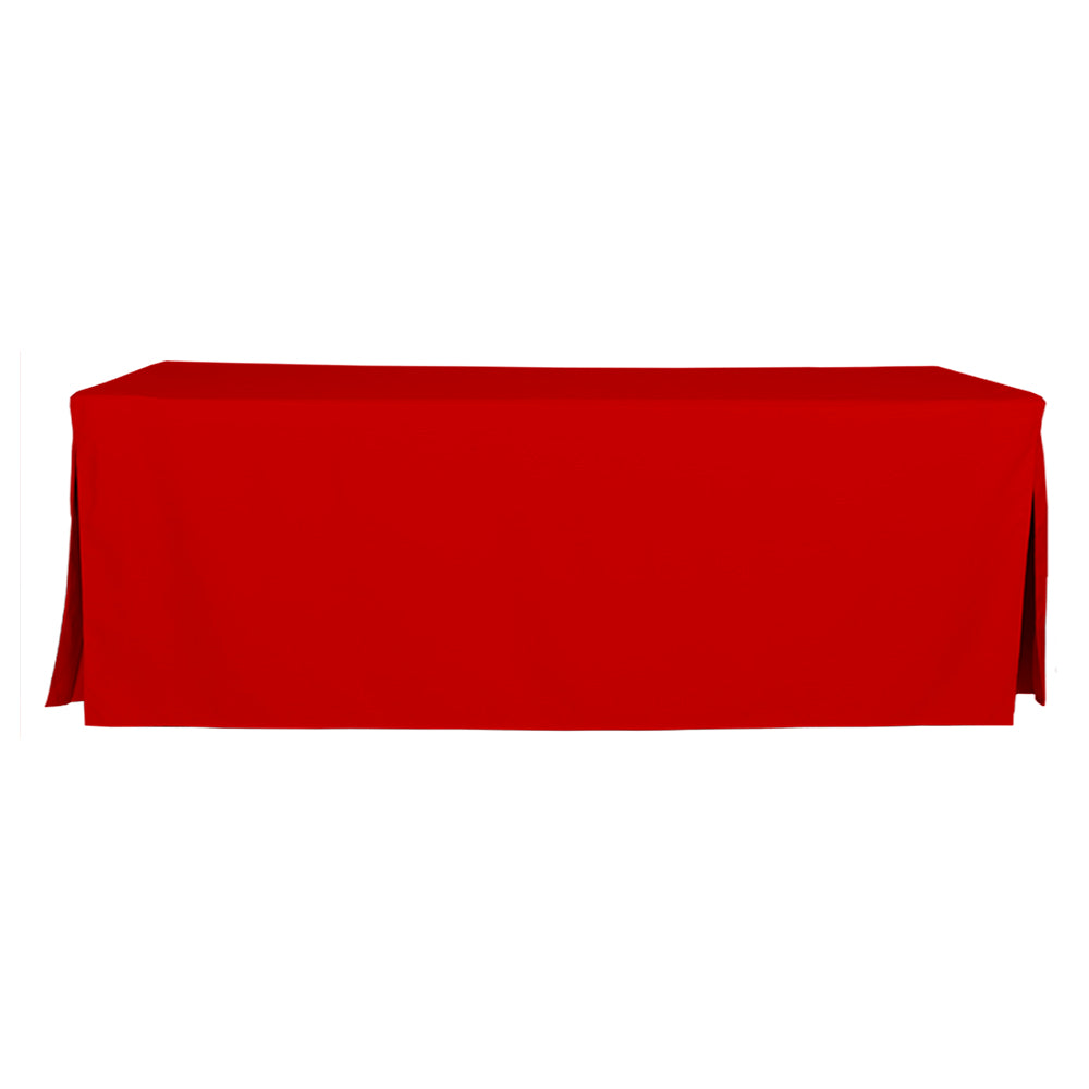 Tablevogue Solid Assorted 8' Table Cover