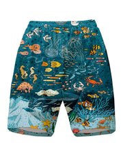 Men Printed Casual quick-drying shorts
