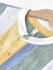 Yellow Cotton Casual Shirts & Tops