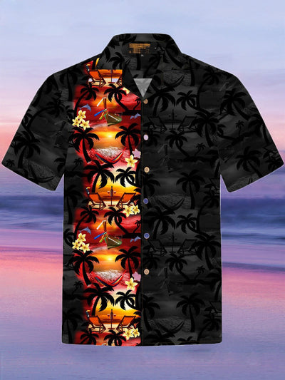 Cotton Floral Casual Hawaiian Shirt