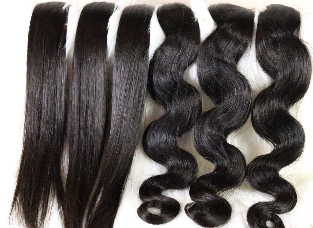 Washing your hair extensions/wigs