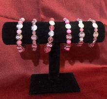 Load image into Gallery viewer, Breast Cancer Bracelets