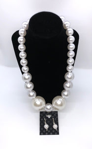 Large All White Pearl Set