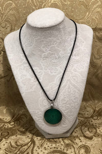 Green with Antique Silver