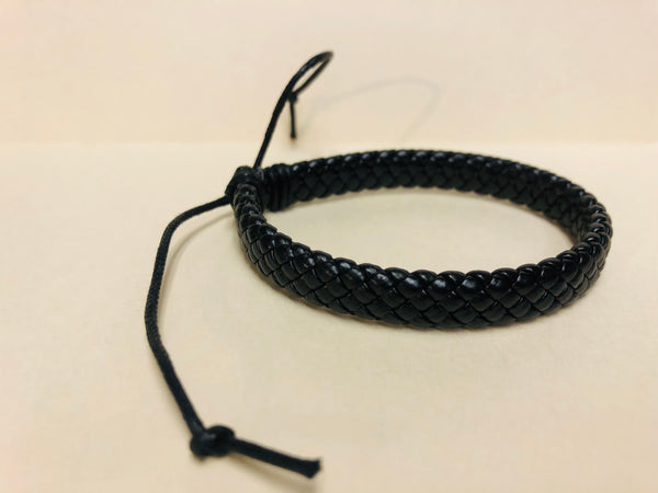 Leather Twisted Band