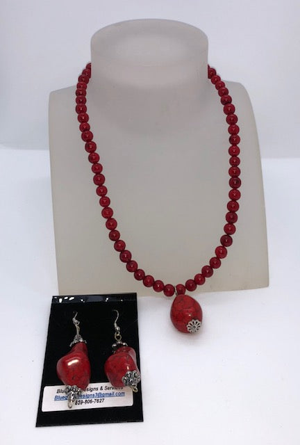 Red Droplet Set