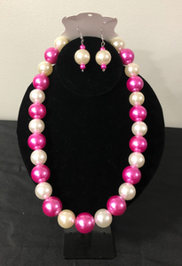 Multi- Colored Pearl Set