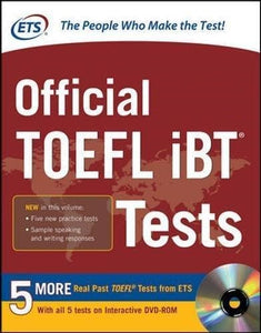 The Official TOEFL iBT Tests (Volume 1/Volume 2 )