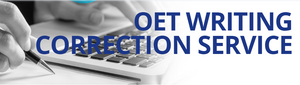 OET Writing Correction Service