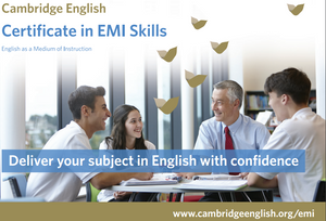 Cambridge EMI Blended Course