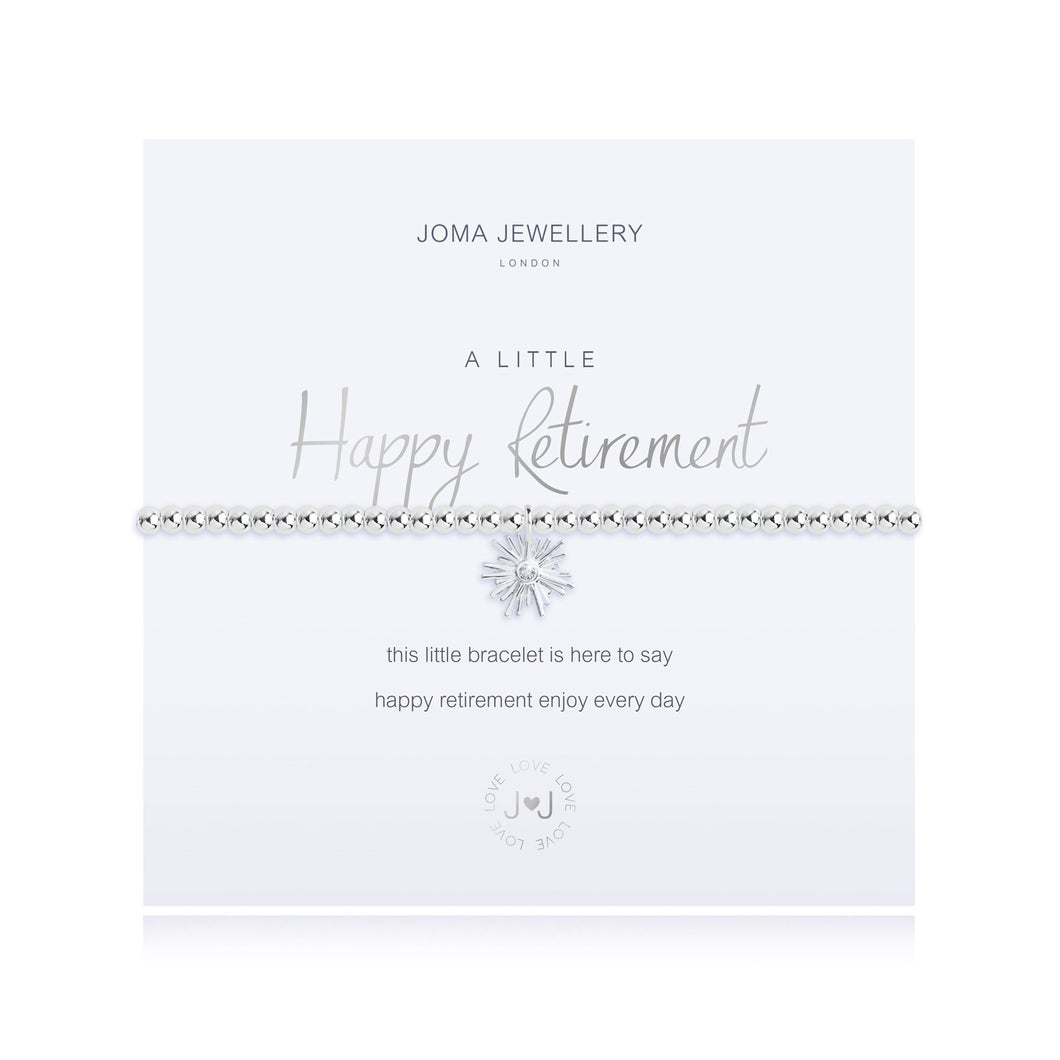 Happy Retirement Joma Jewellery Bracelet