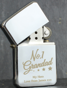 Personalised Dad or Grandad Lighter