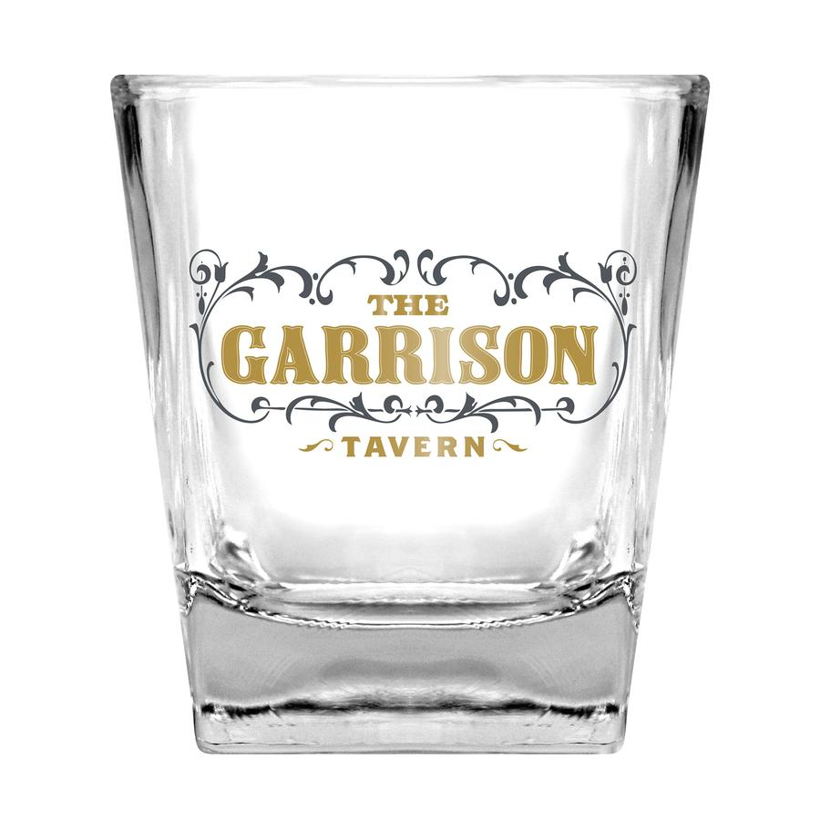 Peaky Blinders Garrison Tavern GLass & Stones Set