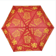 Load image into Gallery viewer, Harry Potter Gryffindor Umbrella