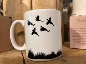 Pheasant shooting mug