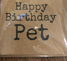 Load image into Gallery viewer, Happy Birthday Pet Card