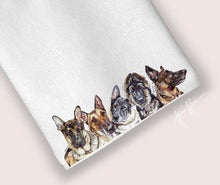 Load image into Gallery viewer, Dog (any breed) tea towel