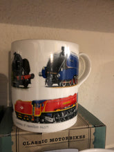 Load image into Gallery viewer, Vintage Train mug