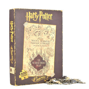 Harry Potter 500 piece Jigsaw of Marauder's Map