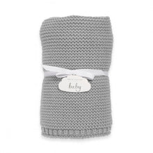 Load image into Gallery viewer, Katie Loxton Knitted Baby Blanket
