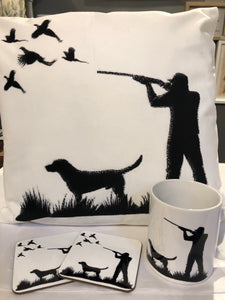 Pheasant shooting cushion with infill